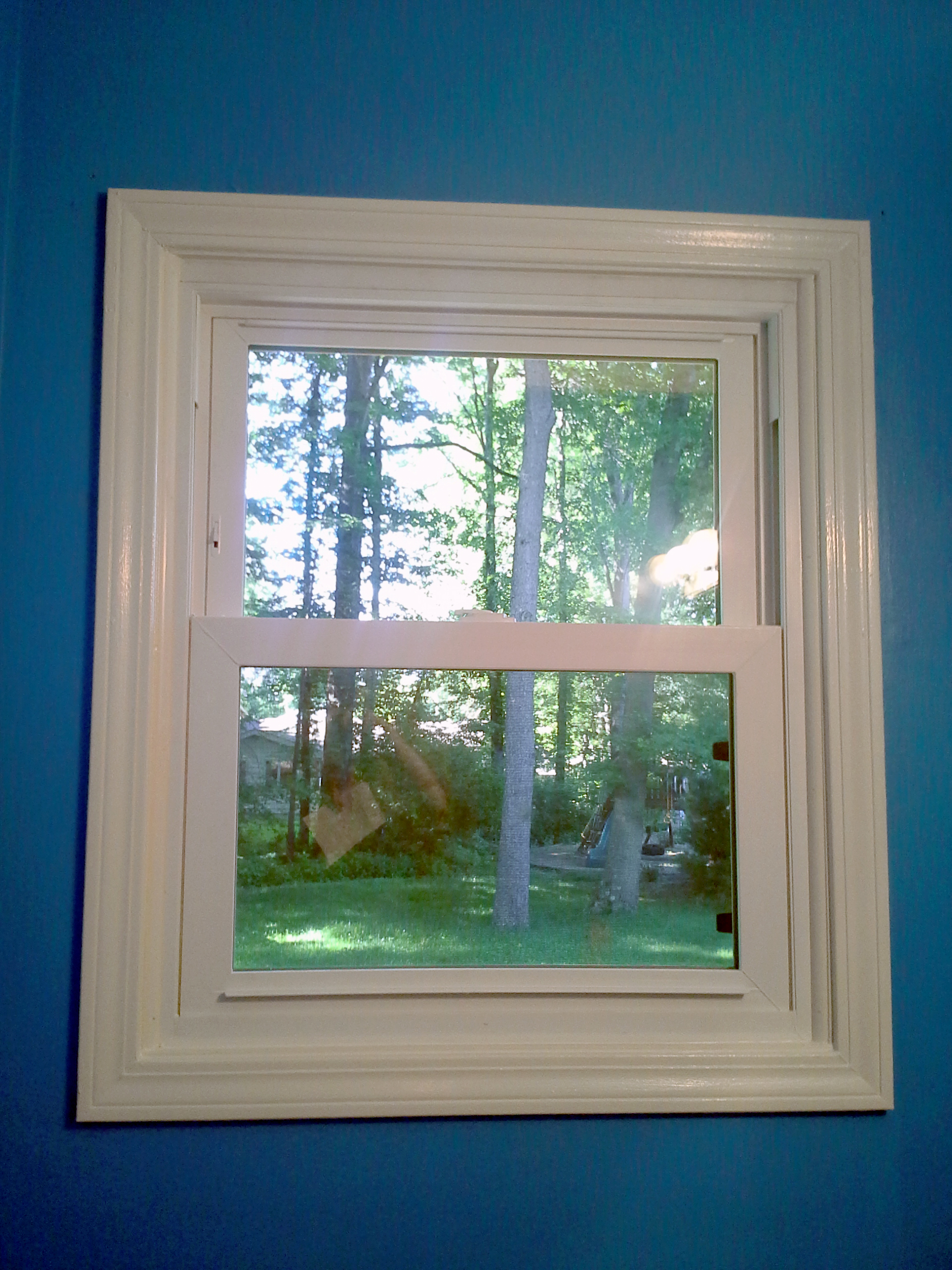 12 new Energy Star-rated windows were installed throughout the house.