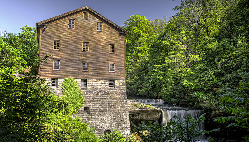 Lanterman's Mill Youngstown Ohio